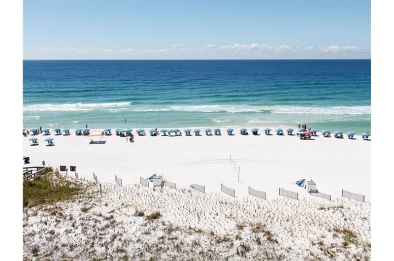 Expansive Gulf view from Azure in Fort Walton Beach Florida