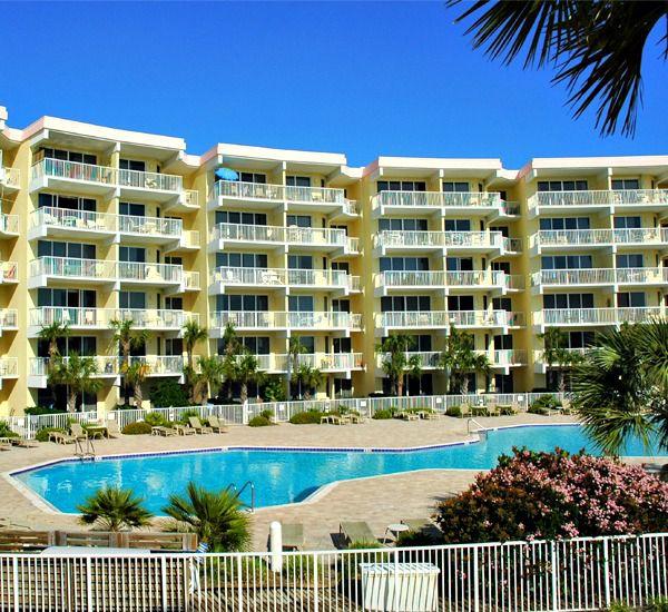 Gorgeous pool area at Destin West Beach & Bay Resort  in Fort Walton Florida
