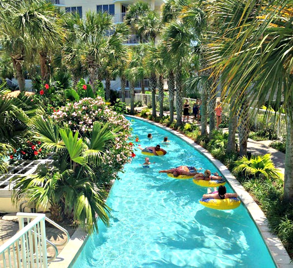 Lazy River at Destin West in Fort Walton Beach Florida