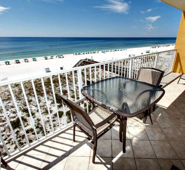 Wonderful beach views from Gulf Dunes in Fort Walton Florida