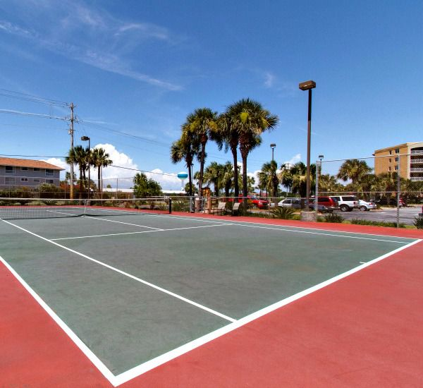 Tennis courts at Gulf Dunes in Fort Walton Florida