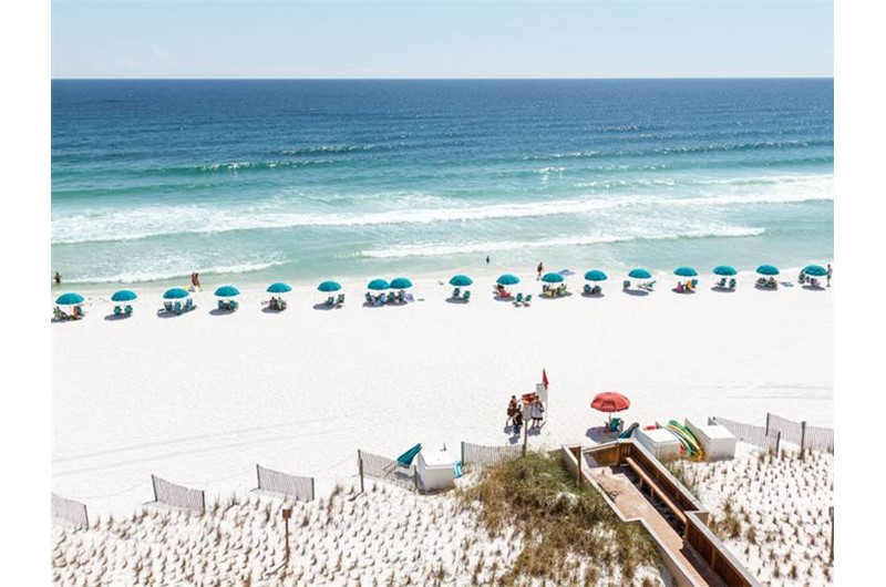 Gorgeous view from Island Echos Condominiums in Fort Walton Florida