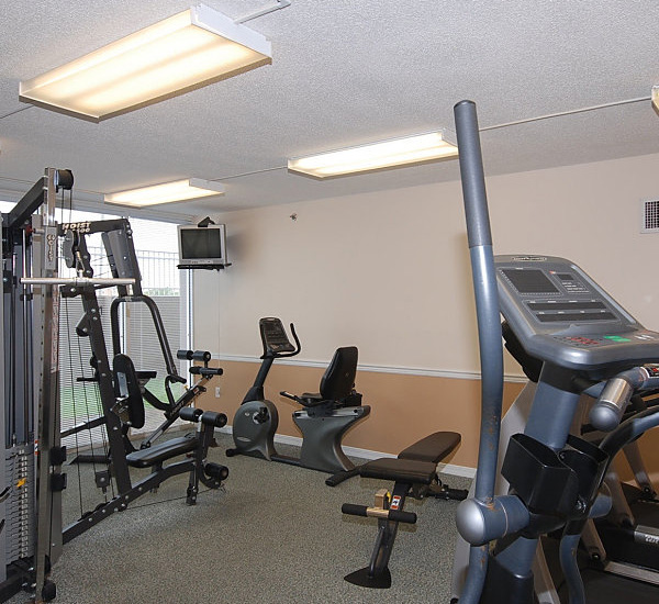 Fitness room at Island Princess Fort Walton