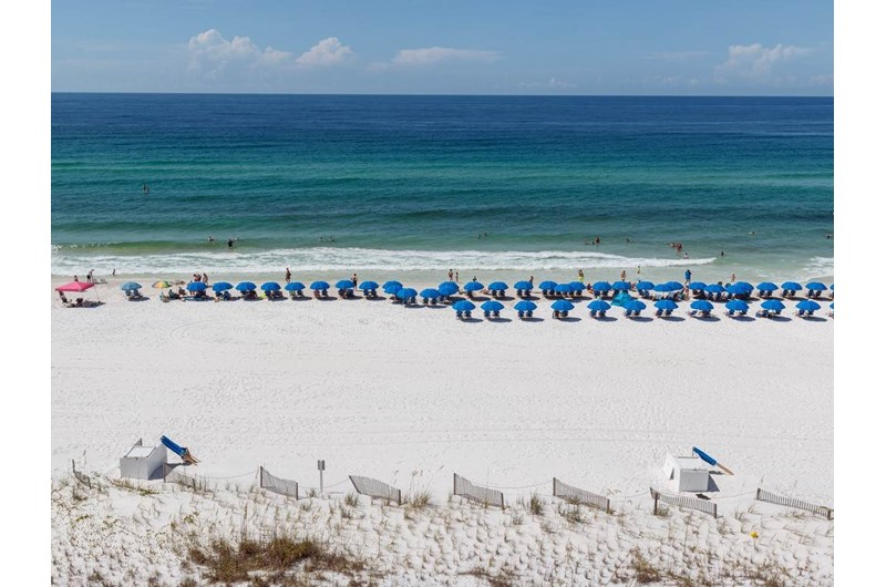 Gorgeous beach and Gulf waters at Island Princess in Fort Walton Beach FL
