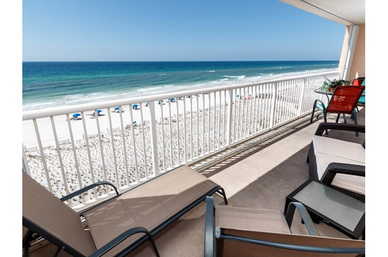 Relax and watch the waves at Islander Beach Resort  in Fort Walton Beach Florida