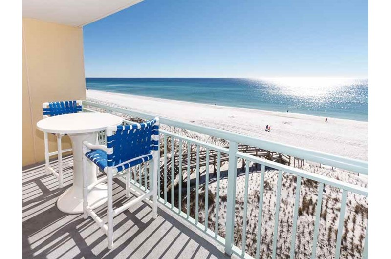 See down the coastline from Pelican Isle Condos in Fort Walton Florida