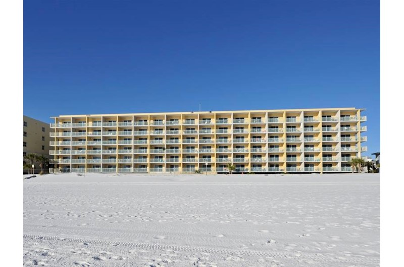 Pelican Isle Condos in Fort Walton Florida is directly Gulf front