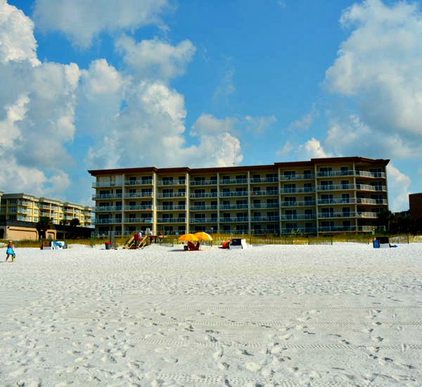 Beachfront exterior - Summer Place in Fort Walton Beach FL