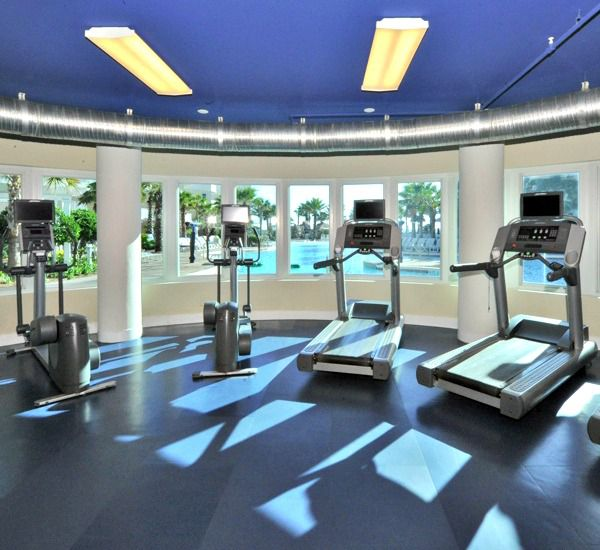 Fitness center at Waterscape Resort in Fort Walton Beach