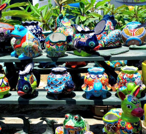 Frost Pottery Garden and Gift Shop in Mexico Beach Florida