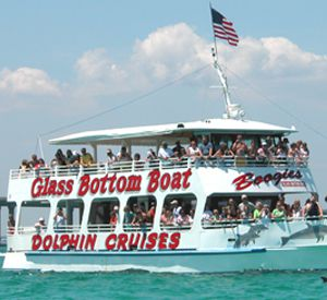 Glass Bottom Boat in Destin Florida