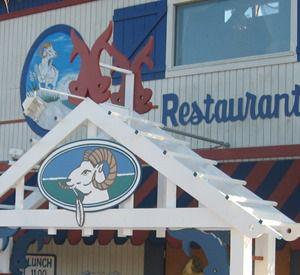 Goatfeathers Seafood Market and Restaurant in Highway 30-A Florida