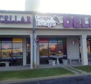 Grape Escape Deli and Wine Cellar in Orange Beach Alabama