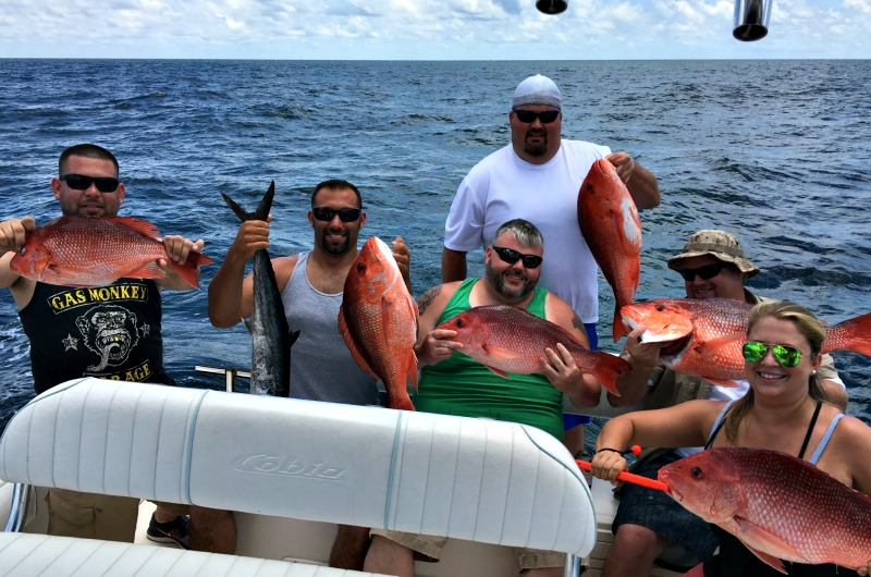 Pensacola beach charter fishing deep sea fishing in for Deep sea fishing perdido key
