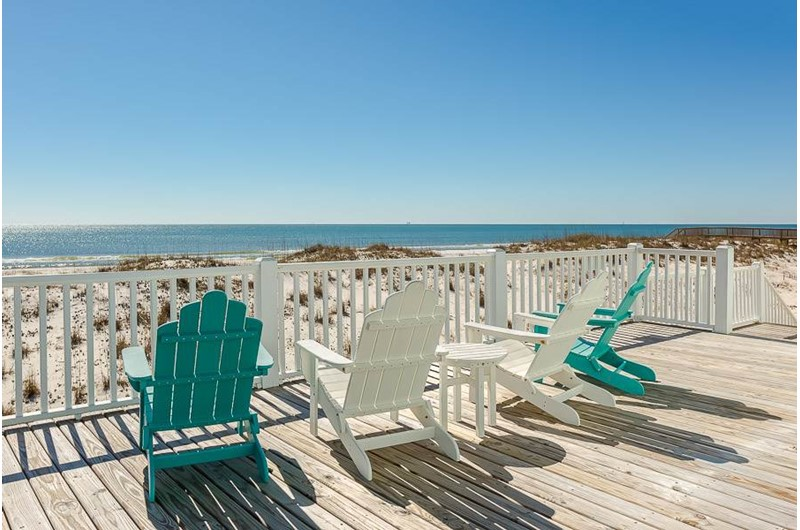 Beachfront Gulf Shores vacation homes
