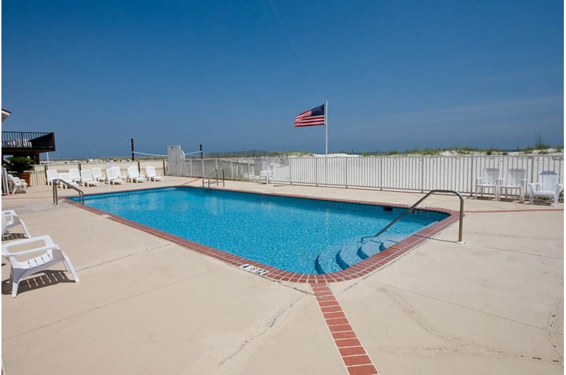 Lovely pool directly on  the Gulf at Buena Vista in Gulf Shores AL