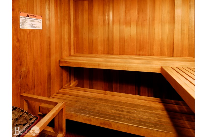 Sauna at Caribbean Condos in Gulf Shores Alabama