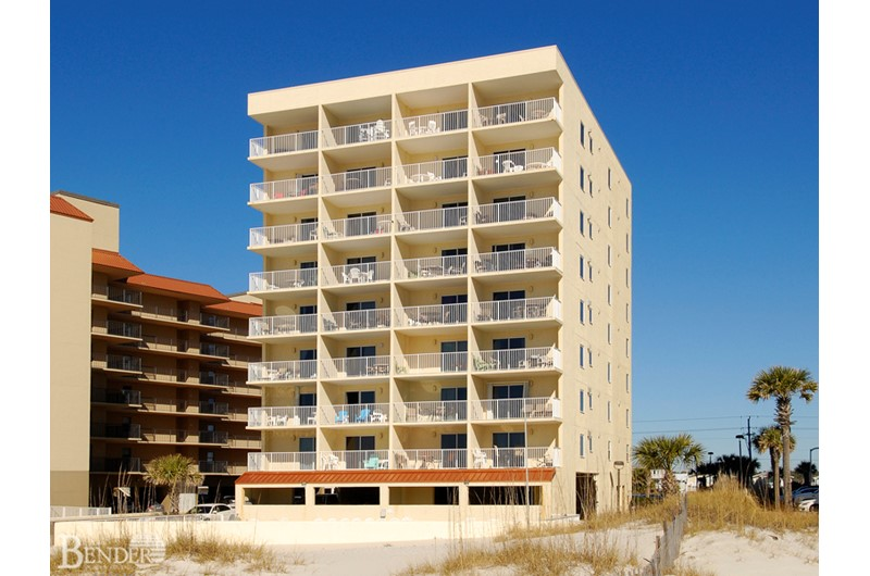 Clearwater Condo on the beach in Gulf Shores AL
