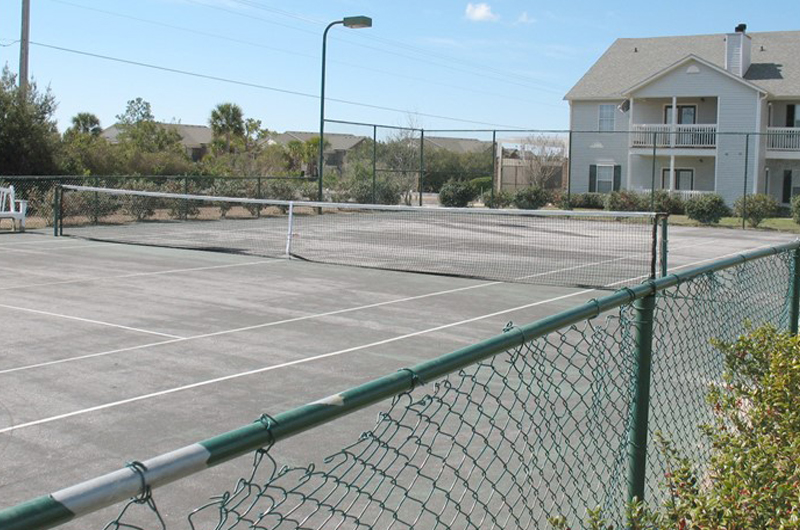 Play a round of tennis at Colony Club in Gulf Shores AL
