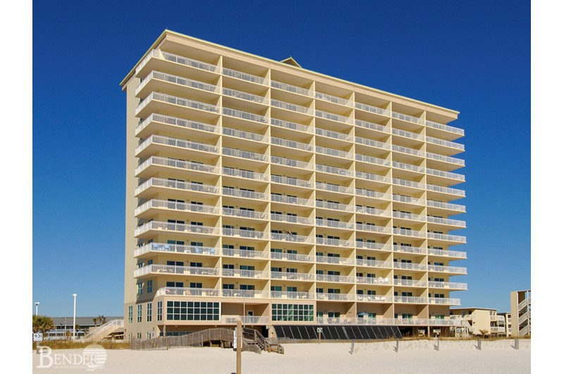 Exterior view at Crystal Shores Gulf Shores