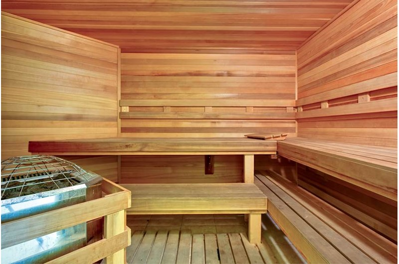 Sauna at Crystal Shores Gulf Shores AL