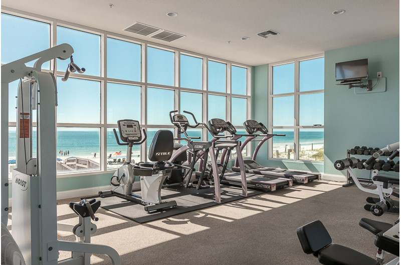 Great gym to work out in at Crystal Shores Gulf Shores AL