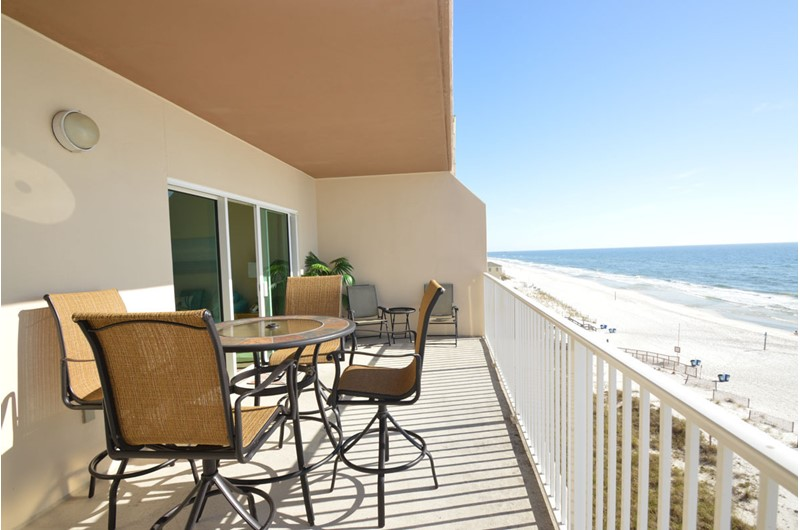 Balcony view from Crystal Shores West Gulf Shores Alabama