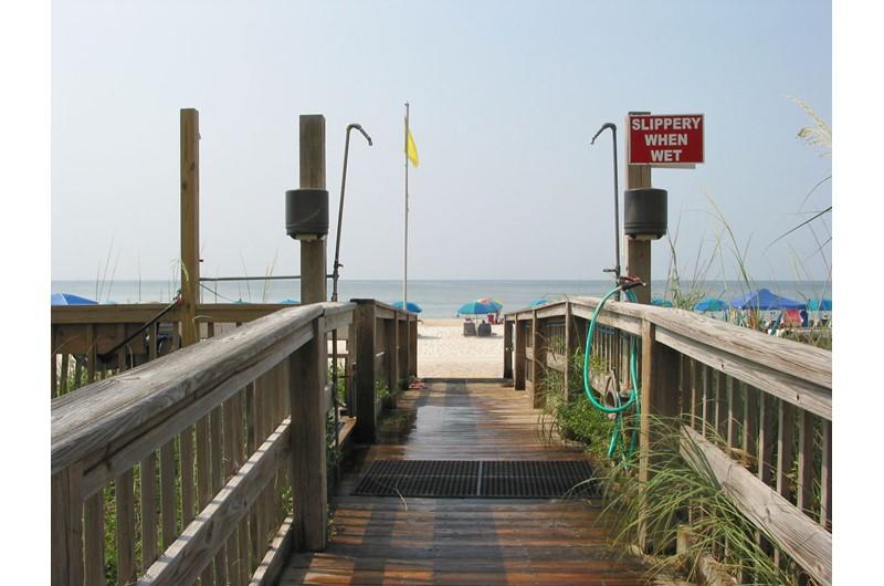 Crystal Shores West walkover in Gulf Shores AL