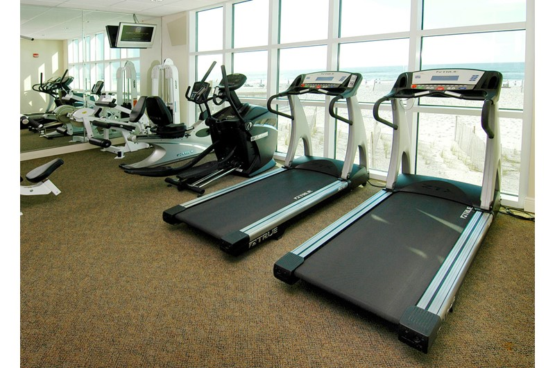 Crystal Shores West fitness room Gulf Shores AL