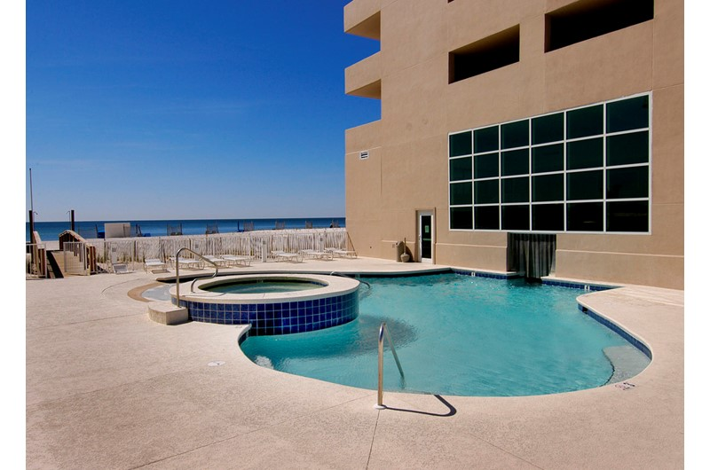 Crystal Shores West outdoor pool Gulf Shores AL
