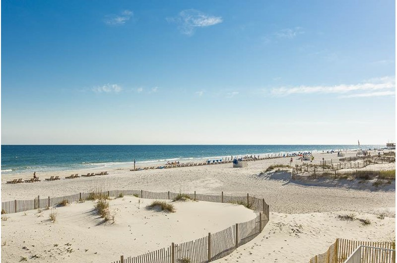 Scenic views from Gulf House Condo in Gulf Shores Alabama