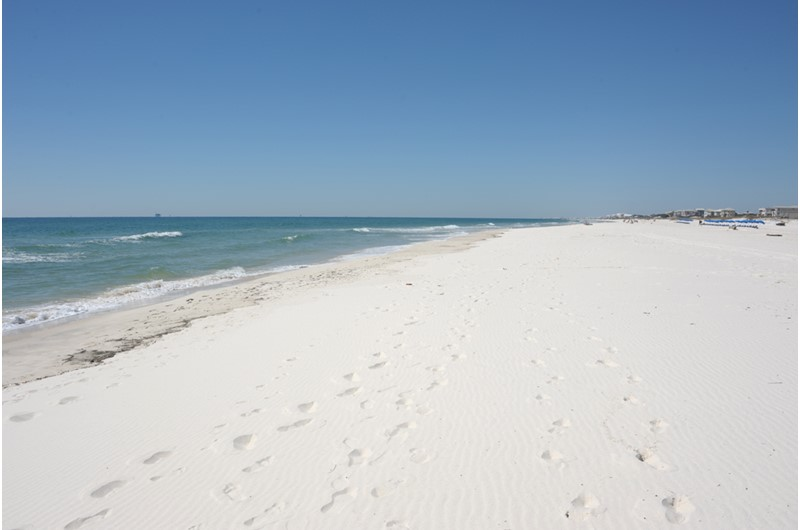 On the beach at Gulf Shores Plantation