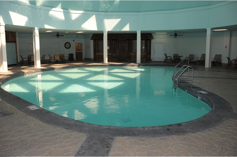 Indoor swimming pool at Gulf Shores Plantation