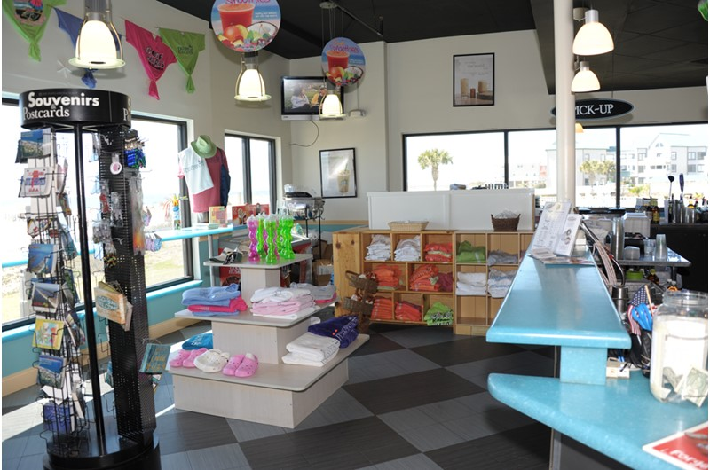 Convenient shop for picking up odds and ends at Gulf Shores Plantation