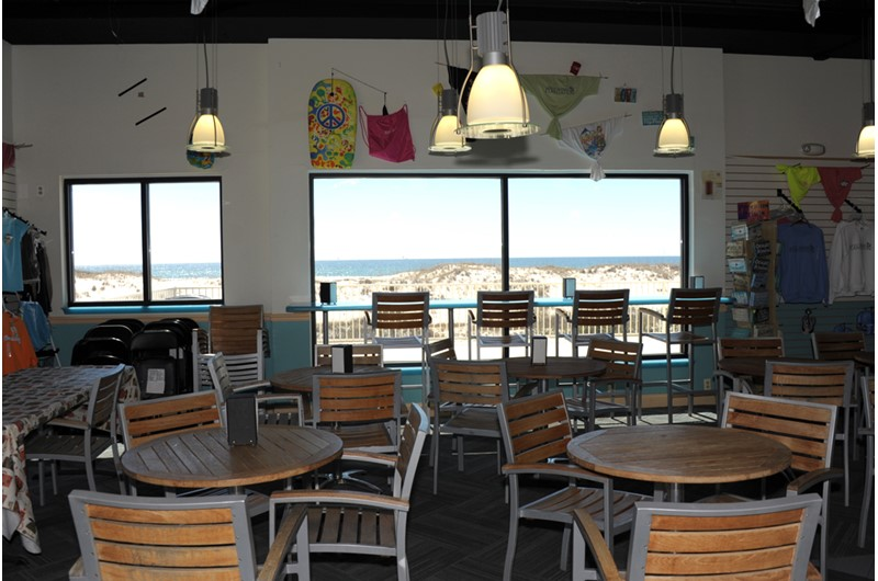 Onsite restaurant at Gulf Shores Plantation
