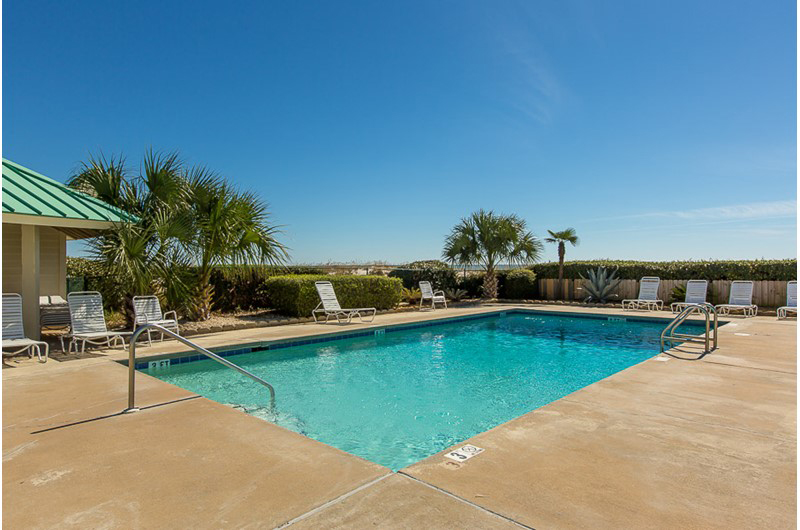 One of several pools at Gulf Shores Plantation in Gulf Shores AL