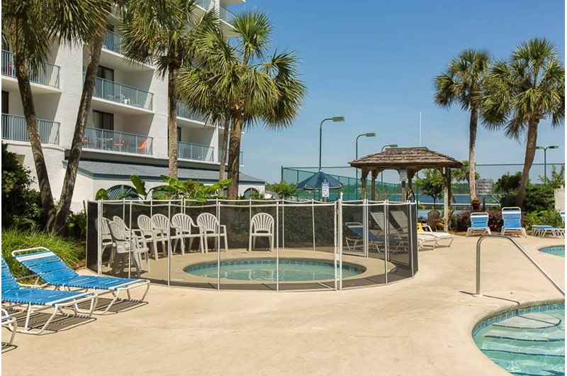 A great kiddie pool at Gulf Shores Surf and Racquet Club in Gulf Shores Alabama