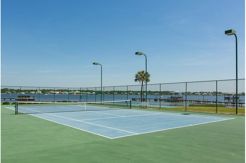 Play a round of tennis at Gulf Shores Surf and Racquet Club in Gulf Shores Alabama