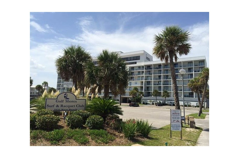 Gulf Shores Surf and Racquet Club in Gulf Shores Alabama is on the bay