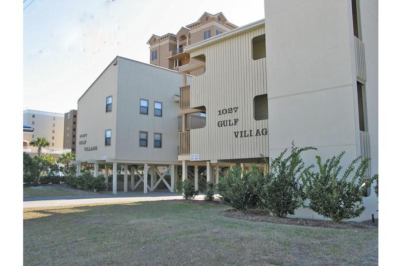 Exterior view of Gulf Village Gulf Shores AL