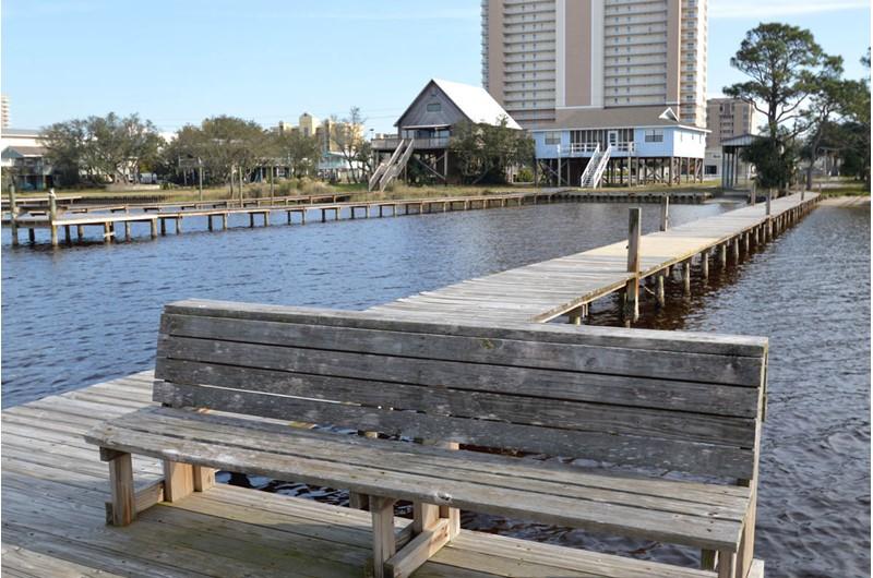 Lovely bay view at Gulf Village Gulf Shores AL