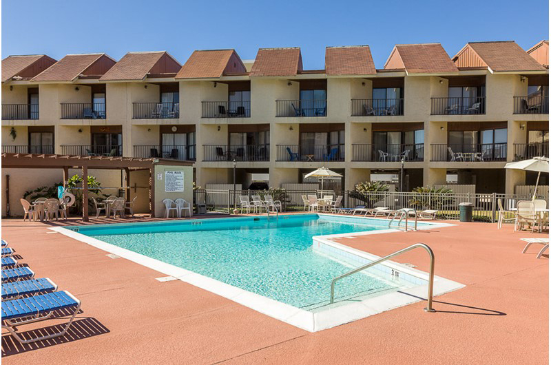 Enjoy time around the pool at Gulfside Townhomes in Gulf Shores AL