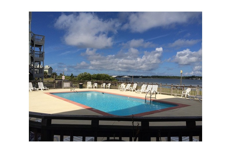 Great view from the pool at Lagoon Run in Gulf Shores Alabama