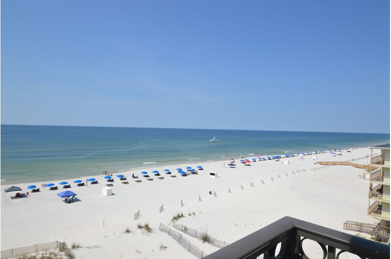 Enjoy Gulf views from your balcony at Legacy Gulf Shores.