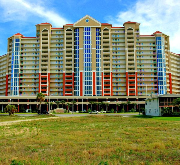 Exterior view from the street of the Lighthouse Gulf Shores