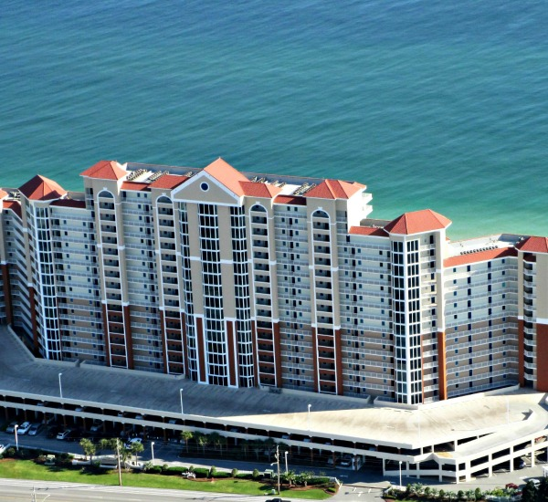 Aerial view of the Lighthouse Gulf Shores