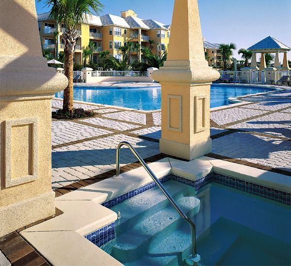 View of pools at Martinique in Gulf Shores Alabama