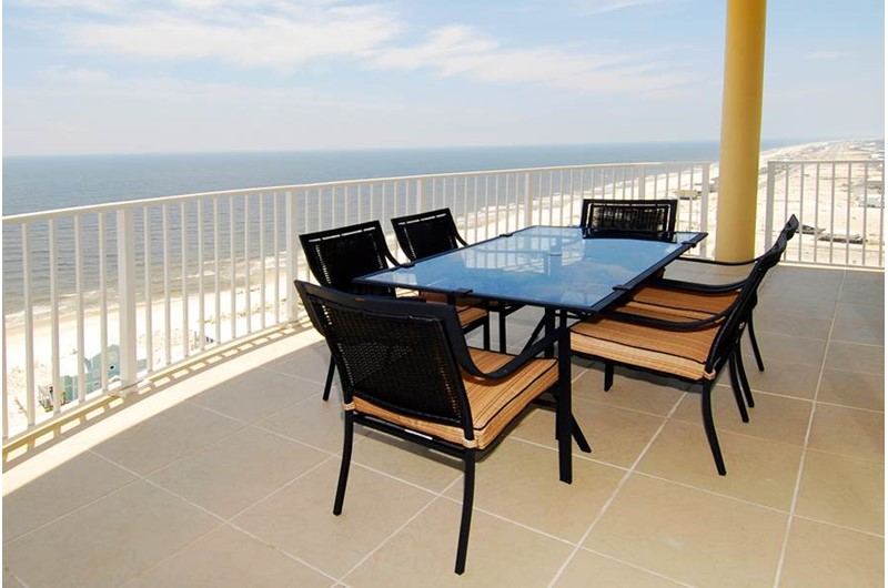 View from your balcony at Mustique in Gulf Shores Alabama