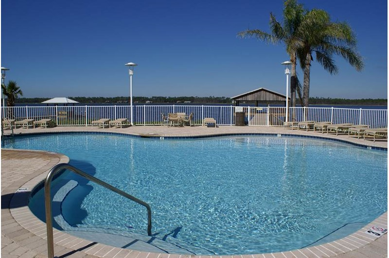 Lovely pool at Mustique in Gulf Shores Alabama