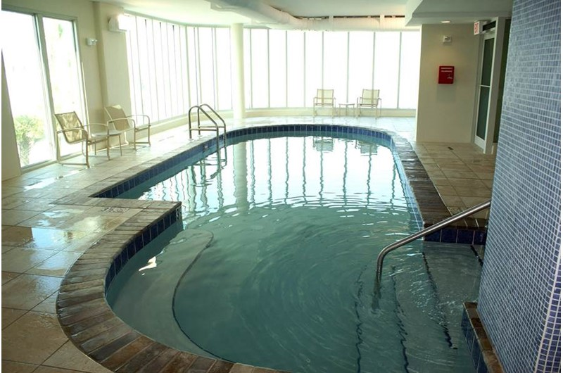 Indoor pool at Mustique in Gulf Shores Alabama